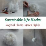 DIY Garden Lights from Recycled Plastic