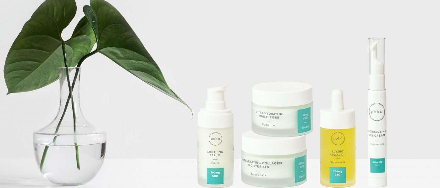 POKO – The Ultimate Vegan Skincare Range Infused with CBD Oil!