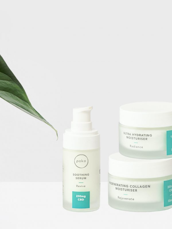POKO – The Ultimate Vegan Skincare Range Infused with CBD Oil!