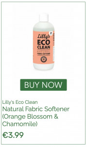 Chemical free fabric softener