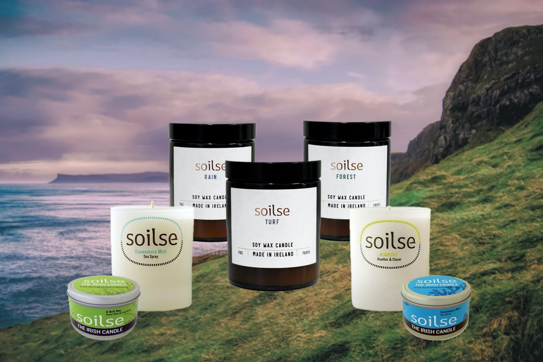 Awaken Your Senses with these Hand Poured Irish Candles