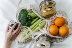 minimal waste grocery shopping