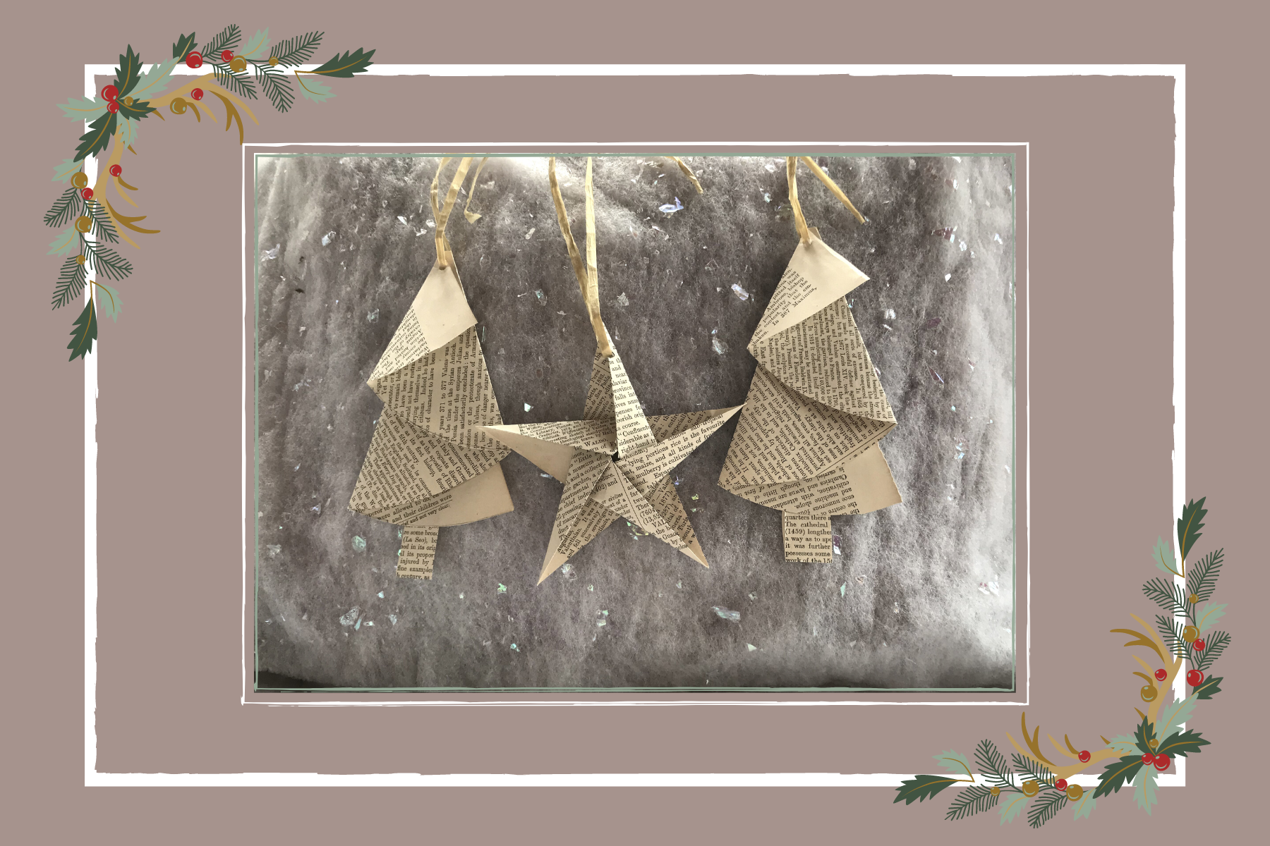 5 DIY Recycled Christmas Decorations!